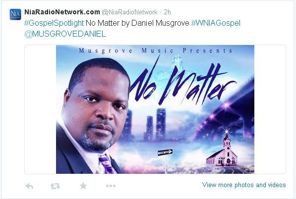 Gospel Song Tweets